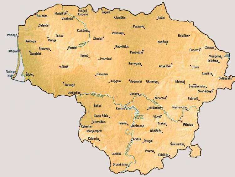 Wetter Litauen Wettervorhersage
